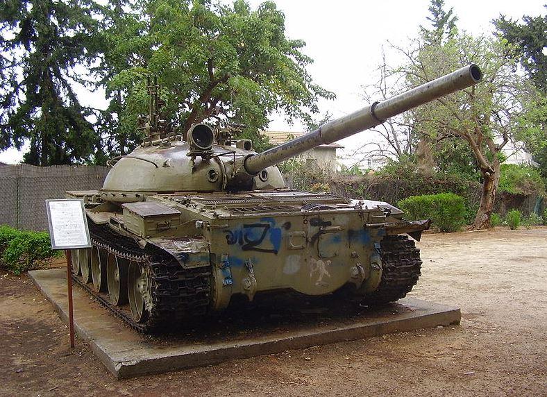 הטנק הסורי בגן יד לבנים פתח תקווה