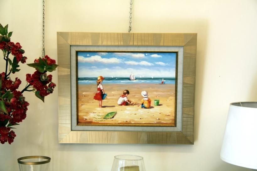 ציורי שמן נוף ים - תמונות שמן ים (1)