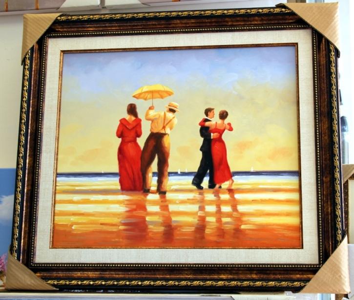 ציורי שמן נוף ים - תמונות שמן ים (12)