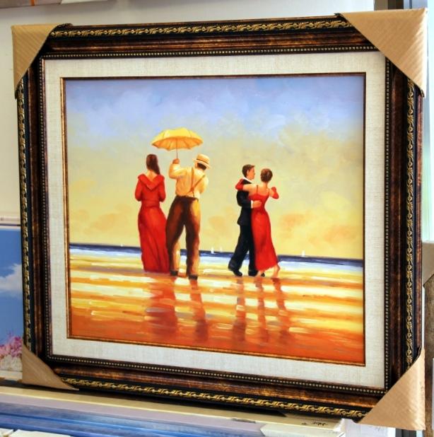 ציורי שמן נוף ים - תמונות שמן ים (13)