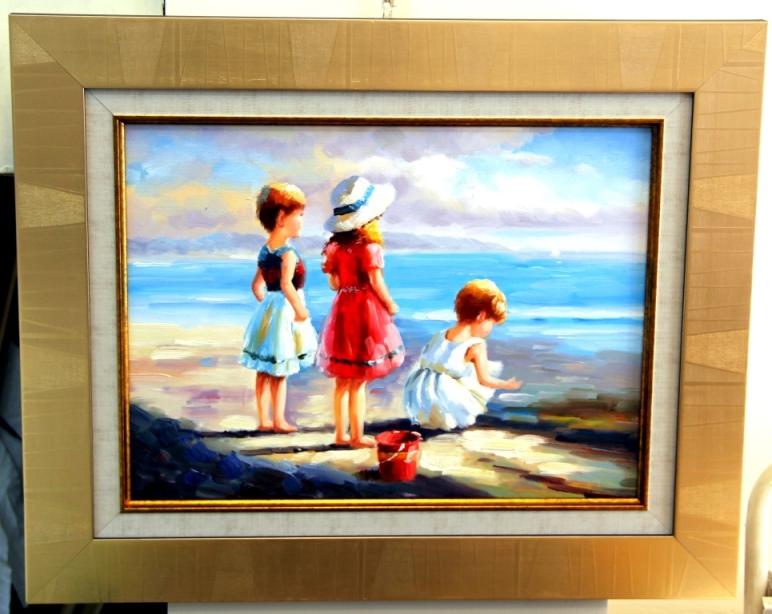 ציורי שמן נוף ים - תמונות שמן ים (23)