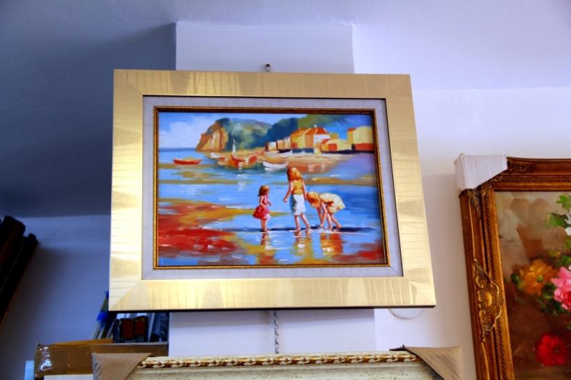 ציורי שמן נוף ים - תמונות שמן ים (24)