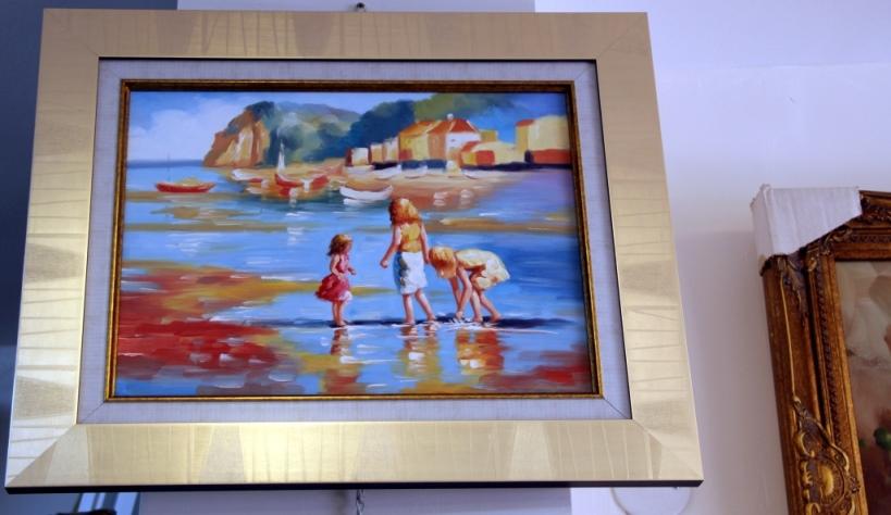 ציורי שמן נוף ים - תמונות שמן ים (32)