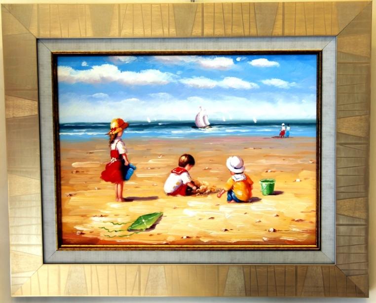 ציורי שמן נוף ים - תמונות שמן ים (34)