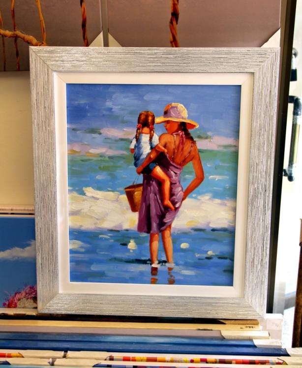 ציורי שמן נוף ים - תמונות שמן ים (6)
