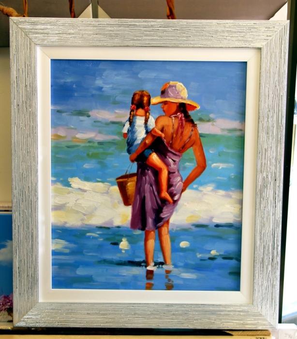 ציורי שמן נוף ים - תמונות שמן ים (7)