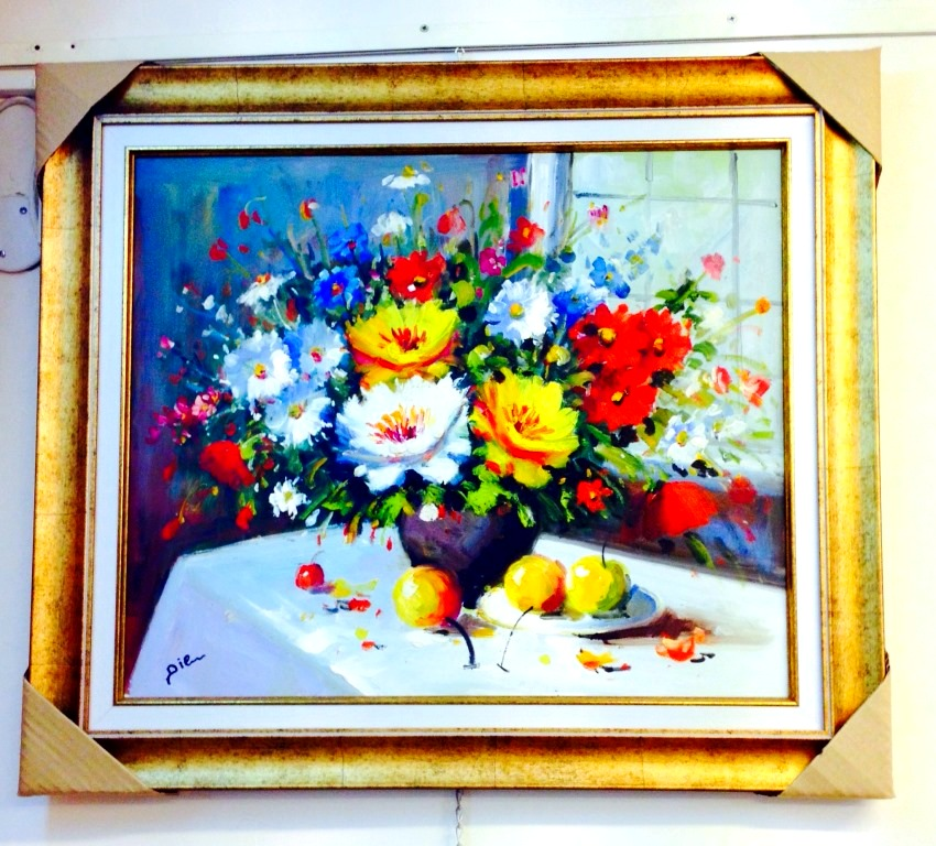 ציורי שמן פרחים (2)