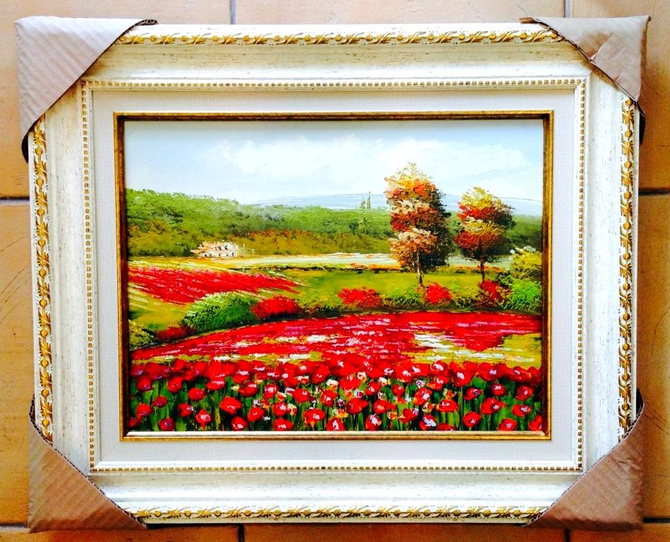 ציורי שמן פרחים (4)